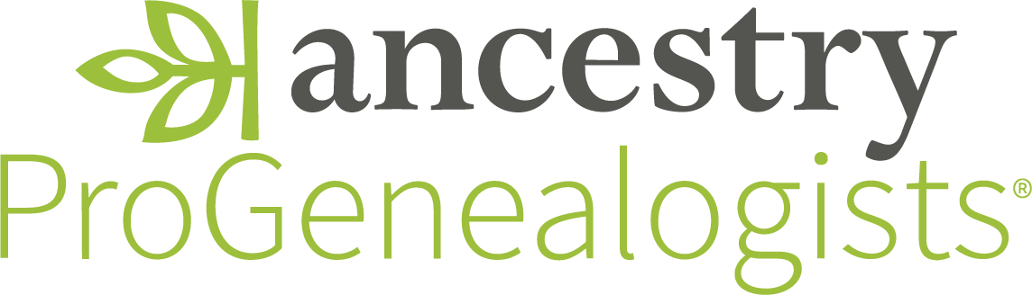 Ancestry ProGenealogists Logo